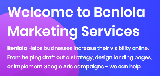 Benlola - Digital Marketing & SEO